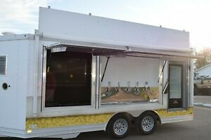 2012 Featherlite 8 5x16 Specialty Draft Tailgating Trailer