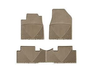 Weathertech All Weather Floor Mats For Honda Pilot 2009 2015 Tan