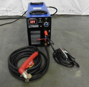 G157195 Lotos Ltp8000 Plasma Cutter W pilot Arc Parts repair