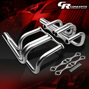 For Chevy Small Block V8 T bucket Roadster Exhaust Manifold Header gaskets bolts