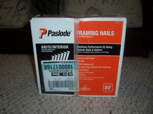 Paslode Framing Nails 3 X 120 30 degree Smooth Shank 2500 Qty 650836 New