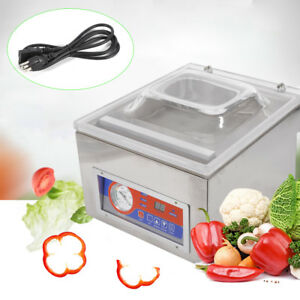 120w 110v Commercial Vacuum Sealer Sealing Machine Packaging Seal System Packing