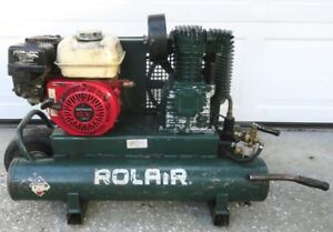 Rolair 4090hk17 5 5 Hp 9 Gal Single Stage Portable Air Compressor