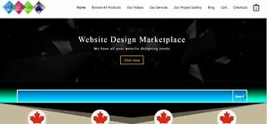 Wordpress Website Design Marketplace Complete Website