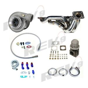 Rev9 Turbo Charger Top Mount Setup Kit 86 92 Toyota Supra 7mgte T4 Mk3 Ma70 7m