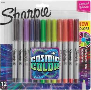 Sharpie Cosmic Color Ultra Fine Point Markers 12 pkg 071641128620