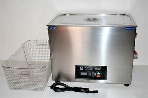 1600w 30l Dual 20khz Or 40khz Commercial Grade Ultrasonic Parts Cleaner Basket