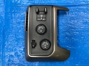 2015 Chevrolet Silverado High Country 1500 Left Side Dash Trim Panel With Switch
