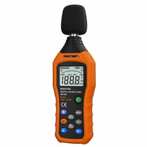 Digital Sound Level Meter Protmex Ms6708 Portable Digital Decibel Sound Level