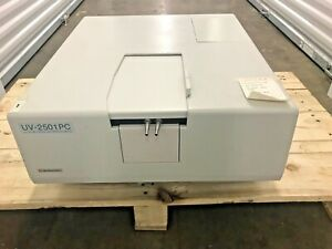 Shimadzu Uv 2501pc Uv vis Recording Spectrophotometer