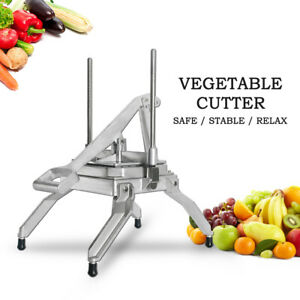 Commercial Vegetable Fruit Dicer Onion Tomato Slicer Chopper Restaurant Cutter