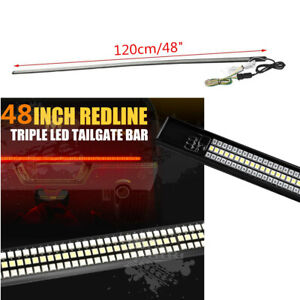 48 Truck Led Light Bar Sequential Turn Signal parking driving Reverse Lights