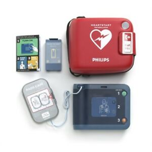 Philips 861304 Heartstart Frx Aed Defibrillator W new Battery Pads