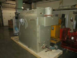 Aldrich Boiler natural Gas Hf 2760 2 760 000btu s hr 15 Psi Max Mfd 2004 Used