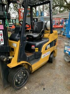 Cat Forklift 6000 Lb Only 5700 Hours Year 2007