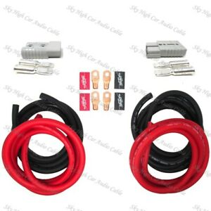 4 Gauge 24 Ft 8 Ft Universal Quick Connect Wiring Kit Trailer Mounted Winch