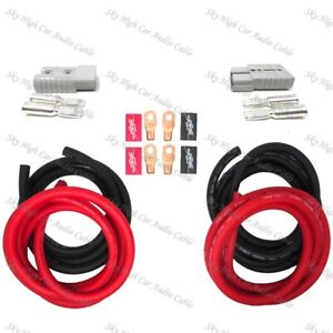 4 Gauge 20 Ft 3 Ft Universal Quick Connect Wiring Kit Trailer Mounted Winch