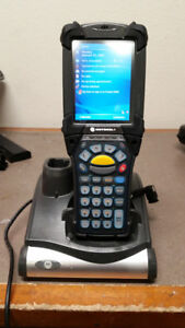 Symbol Mc9090 Wireless Barcode Scanner W Crd9000 1000 Charging Cradle