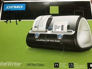 Dymo Labelwriter Label Writer 450 Twin Turbo Works Great Power Cord Usb Cable