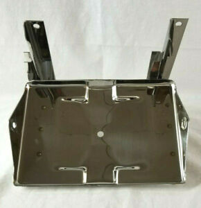 Chevrolet Chevy Gmc Truck Stainless Battery Tray Assembly 1955 2nd Series 1957