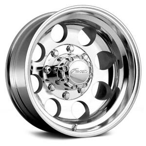 15 Inch 15x10 Pacer 164p Polished Wheel Rim 5x5 5 5x139 7 48