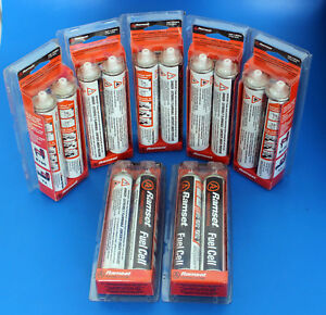 Lot Of 14 Ramset Rfuel2 Fuel Cell For R150 T2 Nail Guns 37g Each Pair Gas Can