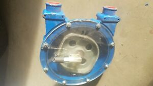 Bredel Sp 15 Peristaltic Hose Pump Housing Rotor Perspex Back