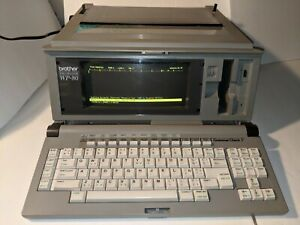 Early 1990 s Vintage Brother Wp 80 Word Processor Typewriter works