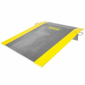 60 X 48 Loading Dock Plate For Pallet Jack Truck 1 800lb Capacity