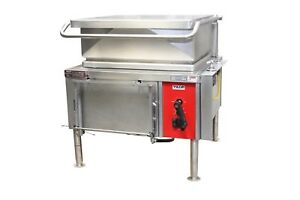 Vulcan Ve30 Electric Lift Tilt Skillet Kettle Braising Pan 30 Gallons 1ph 208v