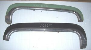1956 Cadillac Fender Skirts With Stainless Trim Right And Left