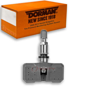 Dorman Tpms Sensor For Honda Ridgeline 2006 2012 Tire Pressure Monitoring Fr