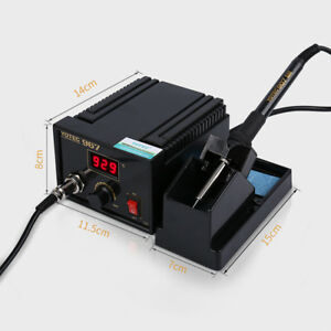 110 265v Rework Soldering Station Iron Lcd Desoldering Holder Temperature Adjust