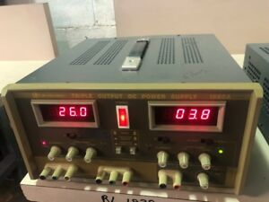Bk Precision 1660a Triple Output Power Supply