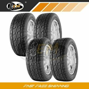 4 New 275 60r15 107h Sl Sp 7 Utility Nankang High Performance Tires 275 60 15r