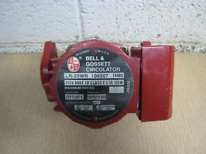 Bell Gossett Lr 20wr 106507 1 15hp 115v Cast Iron Circulator Circulation Pump
