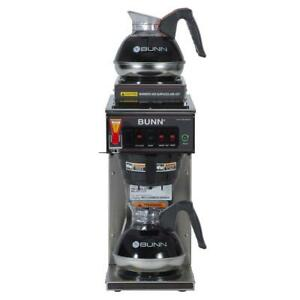 Bunn Cwtf 15 12 Cup Automatic Coffee Maker With 3 Warmers