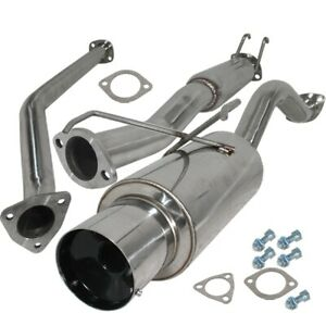 Fit 02 06 Rsx type s Only 2 5 Catback Exhaust System 4 25 Muffler Tip
