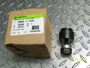 New Greenlee 730bb 1 5 16 Round Knockout Punch Unit