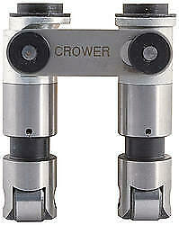 Crower Hi Seat Mechanical Roller Lifter Small Block Chevy 2 Pc P N 66275r 2