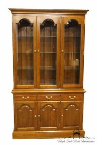 Stickley Furniture Solid Cherry Anniversary 48 China Cabinet 4184
