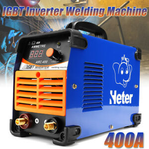 Arc 400 400a 220v Welder Inverter Cutter Igbt Welding Machine Solder Inverter