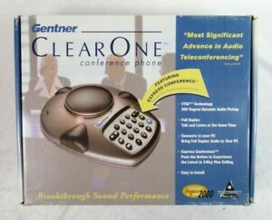 Gentner Clearone Conference Phone Vtm Technology Full Duplex Pc Comp Vc 100