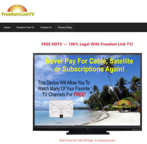 Freedomlinktv com Website For Sale Valuable Domain Name Inventory Included