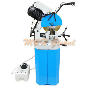 Cold Cut Swivel Base Circular Saw 14 W Stand 220v 3 Phase Metal Cutter