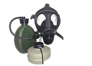 Israeli Youth Gas Mask With Nato Filter Hydration Canteen Without Cover