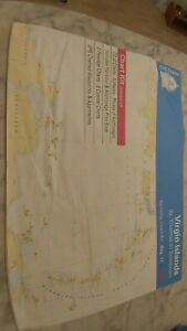 Cyc Nautical Charts Of Virgin Islands St Thomas To Sombrero