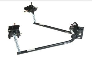 33093 Husky Towing 6 000 Lbs Round Bar Weight Distribution Hitch With Ball
