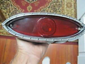 1960 1961 Plymouth Valiant Rh Tail Light Lamp Lens Assembly Bezel Housing Valaa