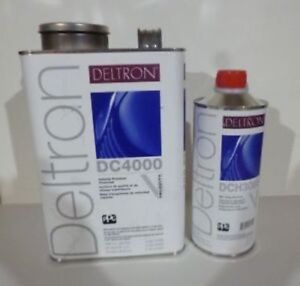 Ppg Deltron Dc4000 Clear Kit 1 Gallon Your Choice Of 1 Quart Of Dch Activator